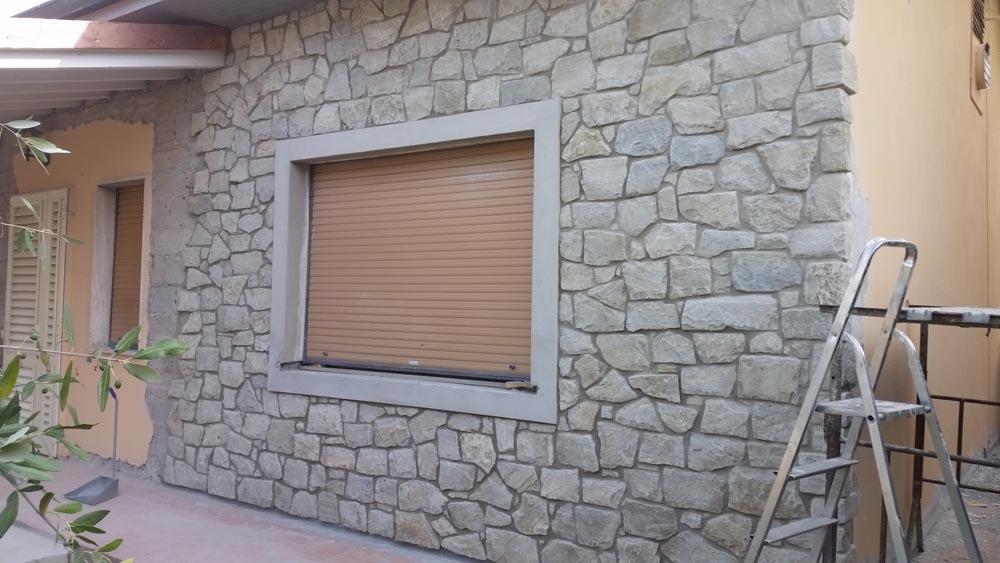 Rivestimento esterno pietre